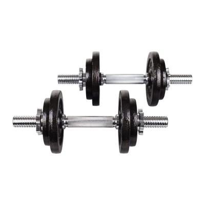 Гантели металлические Hop-Sport STRONG 2x10 кг