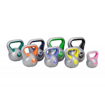 Набор гирь 8 Hop-Sport винил 78 кг