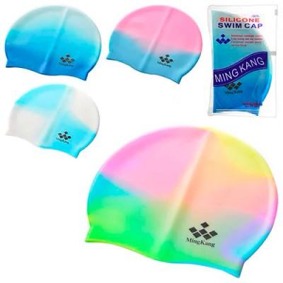 Силиконовая шапочка для плавания и бассейна универсальная 22-19см Intex (MS 0182)