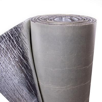 Шумоизоляция фольгированная для автомобиля из вспененного полиэтилена (ППЭ) 8мм с липким слоем