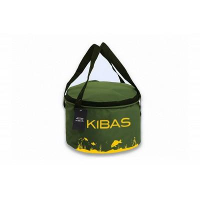 Ведро для прикормки c крышкой Kibas D 300 C, 300x200