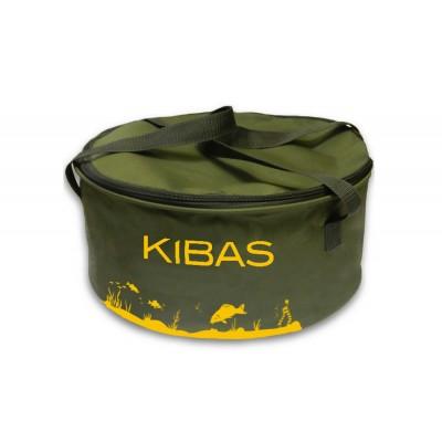 Ведро для прикормки c крышкой большое Kibas D 400 C
