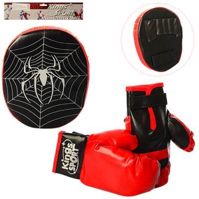 Боксерский набор детский перчатки и лапа Kings Sport (M 2922)