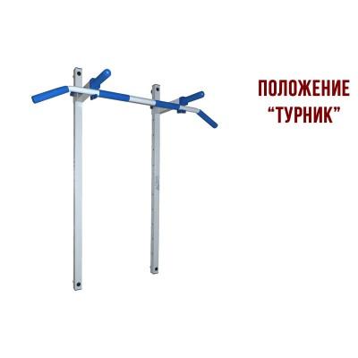 Складной комплекс Турник и Брусья LecoSport PRO Ls32162, настенный