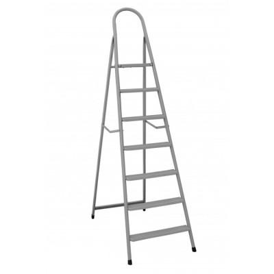 Лестница-стремянка Mastertool ИТАЛИЯ 79-1047, 7 ступеней с растяжками