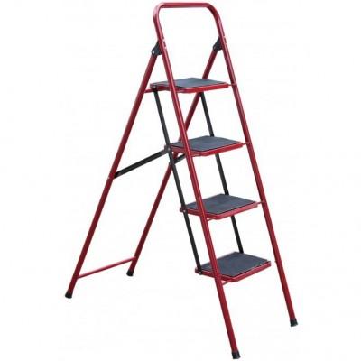 Лестница-стремянка Mastertool СЕМЬЯ 79-1034, 4 ступени с ковриком