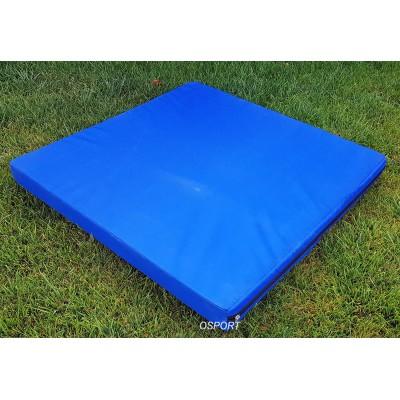 Мат детский спортивный гимнастический OBABY 1м х 1м толщина 10см (ob-0003)
