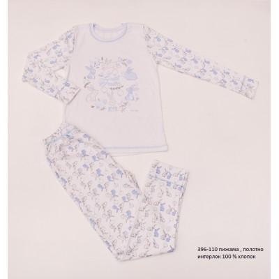 Пижама детская (ночнушка) для детей мальчиков (девочек) OBABY (396-110)