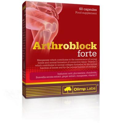 Пищевая добавка Arthroblock Forte капсулы 60шт Olimp (04555-01)