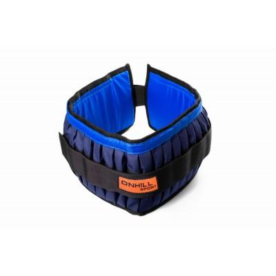 Пояс утяжелительный регулируемый Onhillsport 11 кг 60 см (UP-0106)