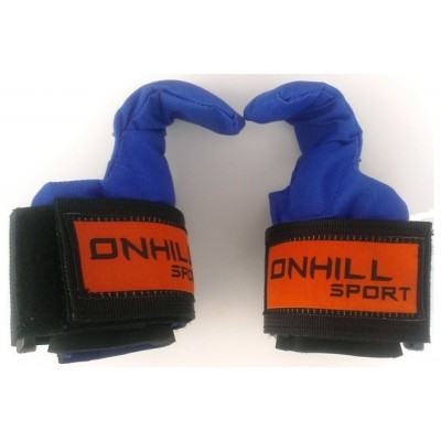 Крюки для турника, тяги и штанги (неопрен/ткань) Onhillsport