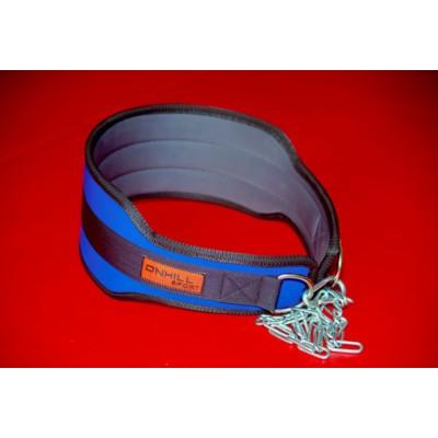 Пояс с цепью для отягощений нейлоновый Onhillsport (OS-0377)