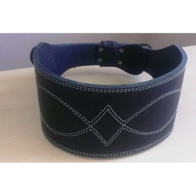 Пояс атлетический двухслойный кожаный Onhillsport размер XXL (OS-0403-5)