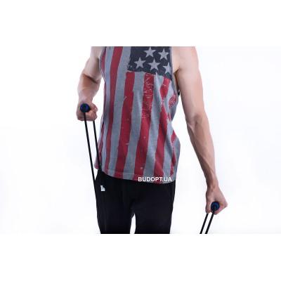 Резиновый эспандер Лыжник-боксер жесткость № 3, анатомические усиленные ручки