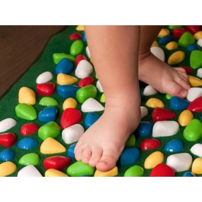 Массажный (ортопедический) коврик дорожка для детей с камнями Морской берег 150*40cm