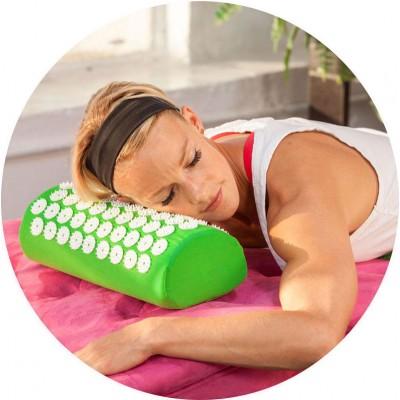 Массажный валик для массажа спины (массажер для спины/шеи/головы/ног/стоп/тела) OSPORT Pro (apl-031)
