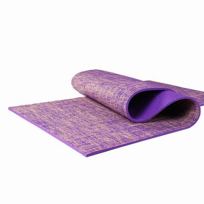 Коврик для йоги и фитнеса (йога мат) профессиональный однослойный ПВХ 173х61см толщина 5мм OSPORT (MS 2870)