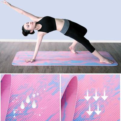 Коврик для йоги и фитнеса (йога мат) OSPORT PER 183х61см толщина 8мм (MS 2014)