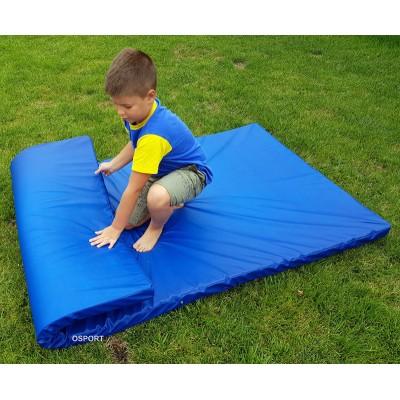 Мат гимнастический спортивный в чехле из кожвинила OSPORT 2м х 1м толщина 8см (FI-0014-8)