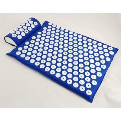 Набор коврик акупунктурный массажный + подушка Аппликатор Кузнецова (apl-005)
