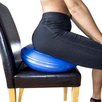 Подушка балансировочная (фитдиск, диск стабильности) для йоги, спорта и фитнеса OSPORT (MS 3164)