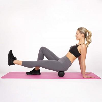 Массажный мяч для йоги и фитнеса (массажер для мышц спины и ног) OSPORT (MS 2470-1)