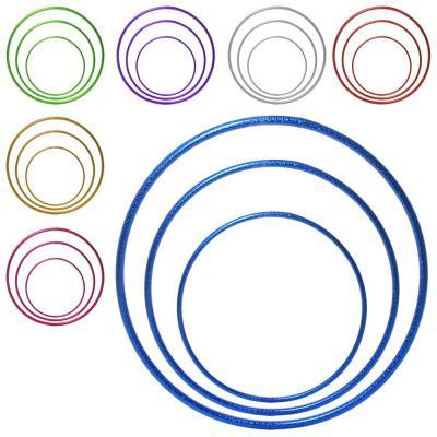 Спортивный обруч (хулахуп) для художественной гимнастики (гимнастический, похудения) 60см OSPORT (MS 2768)