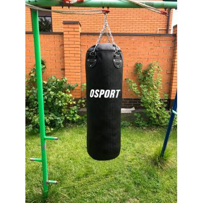 Боксерская груша для бокса (боксерский мешок) кирза OSPORT Pro 1м (OF-0045)
