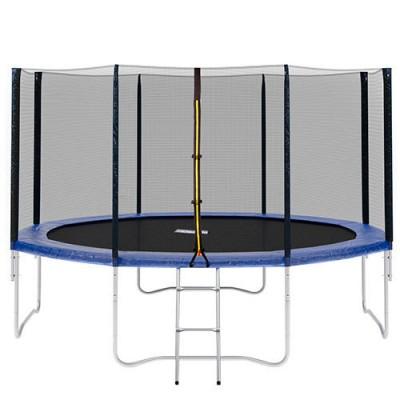 Большой батут для дома с защитной сеткой для взрослых и детей профессиональный OSPORT 366 см (MS 0822)