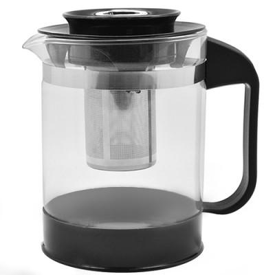 Чайник заварочный (заварник) для чая стеклянный 1000мл Stenson (6211-S)