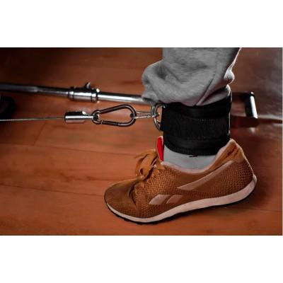 Манжета тканевая для ног, тяги на тренажере с карабином OSPORT (OS-0313)