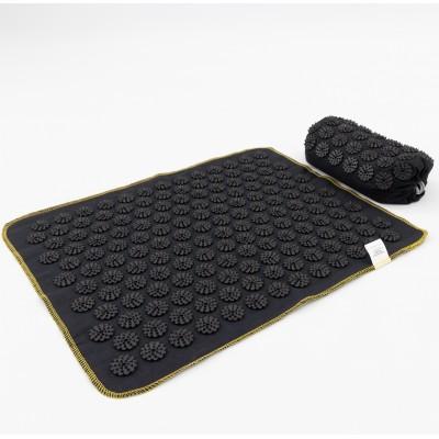 Массажный коврик + валик (аппликатор Кузнецова) массажер для спины/головы/ног OSPORT Lite ECO 50 (apl-026)
