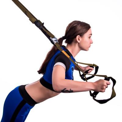 Тренировочные петли trx для кроссфита (трх тренажер для фитнеса и турника) OSPORT Pro (FI-0037-1)