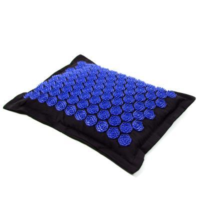 Подушка массажная игольчатая (аппликатор Кузнецова) массажер для головы/шеи/спины OSPORT Lotus Eco (apl-023)