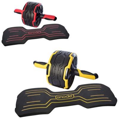 Ролик (колесо) тренажер для мышц пресса с возвратным механизмом Profi (MS 2788)