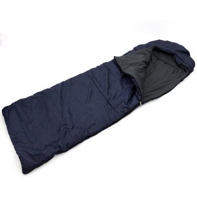 Спальный мешок (спальник) одеяло с капюшоном и флисом Осень-Весна OSPORT Tourist Medium (ty-0014)