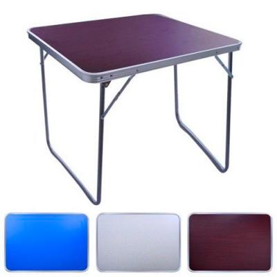 Туристический раскладной усиленный стол чемодан для пикника и рыбалки, кемпинга Stenson (MH-3089M)