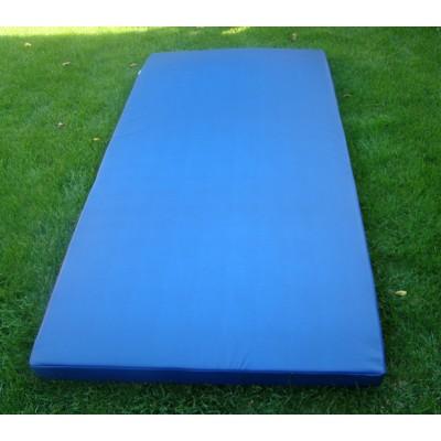 Мат гимнастический спортивный в чехле из кожвинила OSPORT 2м х 1м толщина 10см (FI-0014)