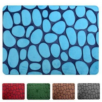 Антискользящий коврик для ванной комнаты 45х75см Камни Stenson (R82470)