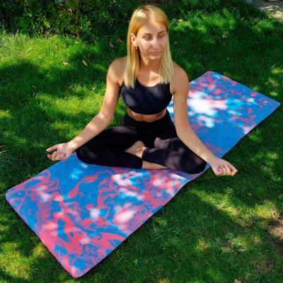 Коврик для йоги и фитнеса PER (йога мат, каремат спортивный) OSPORT Yoga ECO Pro 8мм (OF-0086)