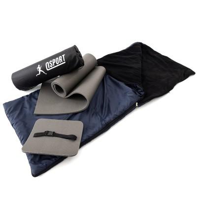 Коврик туристический + спальник + сидушка (каремат в палатку под спальный мешок) OSPORT Lite Осень (n-0014)