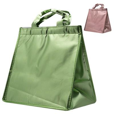 Термосумка (сумка-холодильник, термобокс) для еды и бутылочек с ручками 29*29*22см Stenson (R26903)
