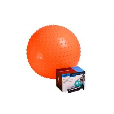 Мяч гимнастический - массажер PowerPlay 4002 55см + насос