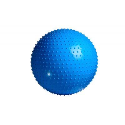 Мяч гимнастический - массажер PowerPlay 4002 75см + насос