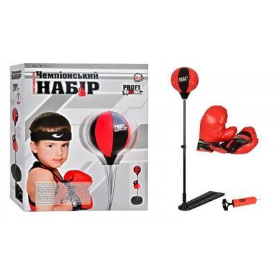Детский боксерский набор M 1073 (груша и перчатки)