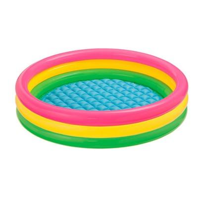 Детский круглый надувной бассейн Profi (57412)