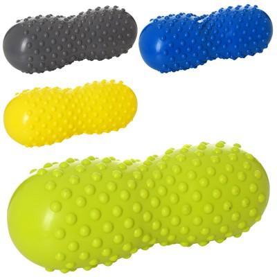 Массажный мяч для йоги и фитнеса (массажер для мышц спины и ног) OSPORT (MS 2350)