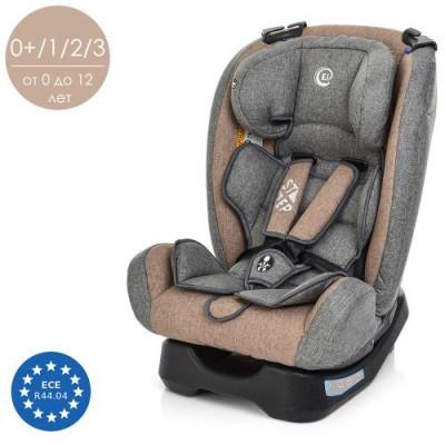 Автокресло детское для машины (кресло для авто) с регулируемым подголовником Step Bambi (ME 1017-11)