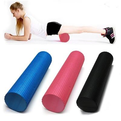 Массажный ролик, валик для массажа спины (йога ролл массажер для спины, шеи, ног) OSPORT 90*15см (MS 1873-1)