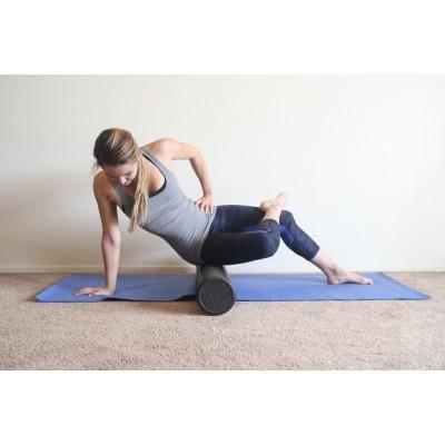 Валик (ролик) массажный для йоги (спины) EVA 90х15см OSPORT (MS 1873-2)